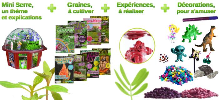 kit de jardinage pour les enfants