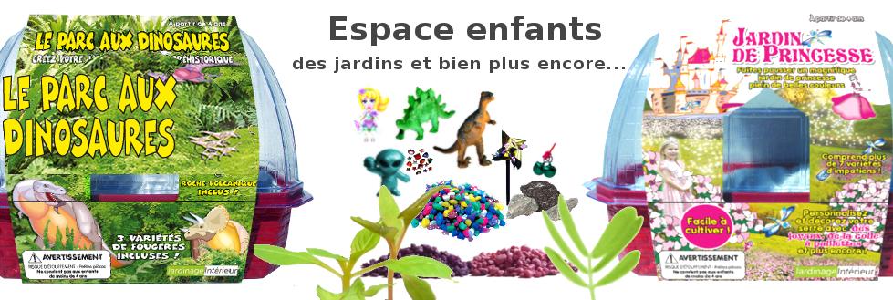 petits jardins pour enfants